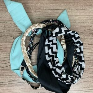 Set of 5 Assorted Fashion Headbands